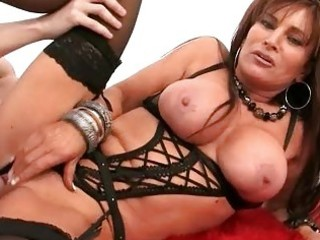 horny milf housewife roughly drilled in hot