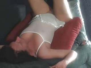 non-professional milf sucks and copulates with