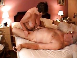 granny cook jerking massage