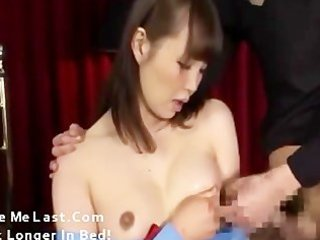 Japanese milf fucked and lactated