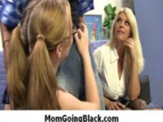 mamma go darksome - interracial hardcore milf
