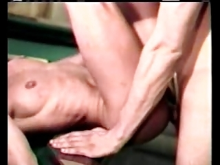 golden-haired milf takes two in one as well as