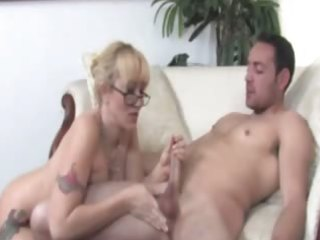 jerking off is a aged ladys game as shown here