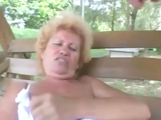 shaggy granny effie anal outdoor