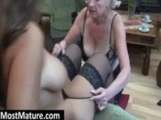 granny eat a lesbian milfs muff