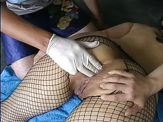 amateur mother i in fishnets anal fisting