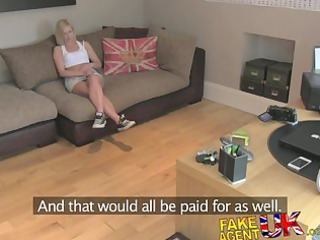 fakeagentuk british blond milf devours jock for