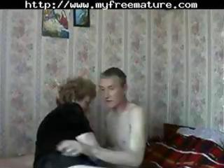 older russian mommy acquires a youthful fellow to