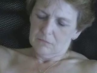 57 years old wife masturbating. non-professional