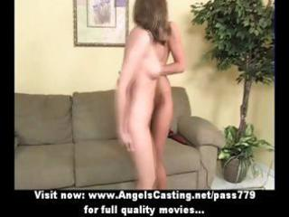 blonde milf and cute lesbo lover toying and