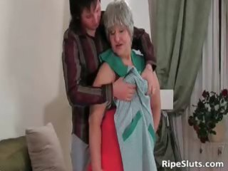 breasty chunky mature slut receives wet strong