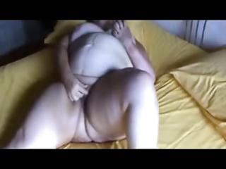 Nasty granny fingering pussy. amateur