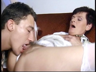 Mature German cock cravers