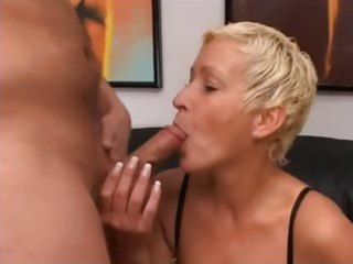blond older having cunt fisted hard