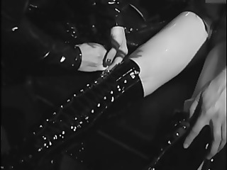 lesbo sluts bound in leather