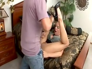 breathtaking golden-haired mother id like to fuck