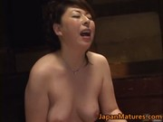 Japanese mature lady has hot lesbian sex