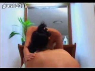 Shy asian wife finally spreads her legs for a