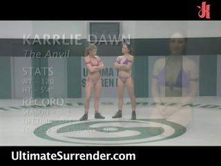 ariel x karrlie dawn - undressed catfighting