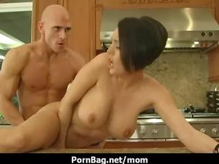 Fucking a big boobs mommy 15