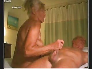 mature pair on web camera