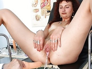 redhead d like to fuck bawdy cleft checkup at