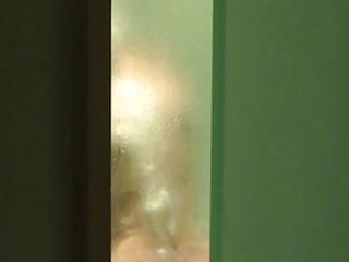 voyeured wife in the shower