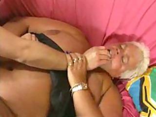 corpulent german granny