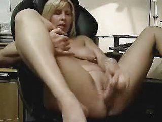 Hot video of my wife masturbating. amateur mature