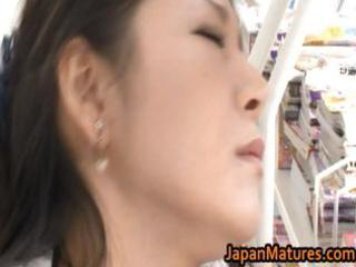 ayane asakura asian milf has public sex part5