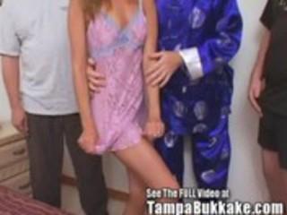 slut wife sherrys group sex tampa bukkake slumber