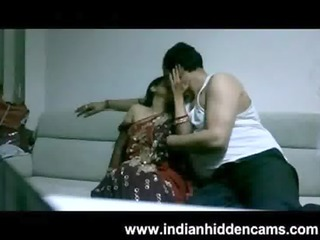 mature indian couple in lounge after party