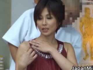 Asian milf has massage and fucking part4