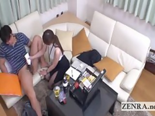 cfnm japan mother i uses sex toy to give client a
