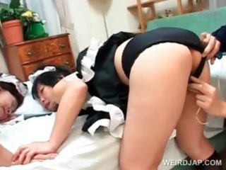 asian foursome with older maidens screwed hard