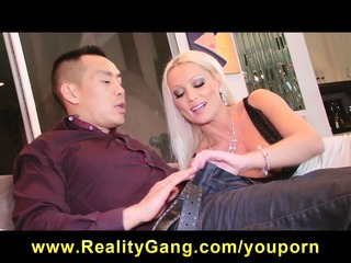 cheating big-tit golden-haired wife floozy has