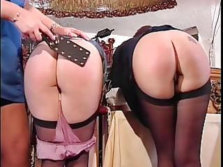 cute booties getting spanked
