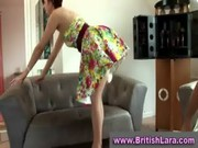 aged british lady in nylons plays with younger guy