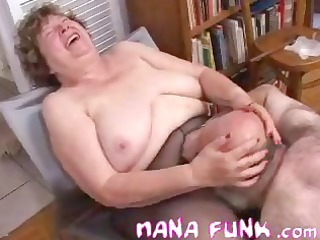 nana funk cum-hole licked and blows old knob