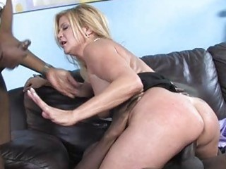 lewd mother i hottie shags with darksome dude in