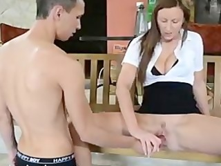 wank herself off - erotic female domination