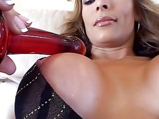 hot colombian cougar monique enjoys a hard