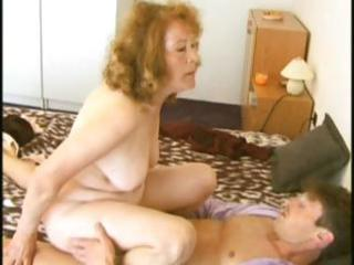 Granny massage fuck