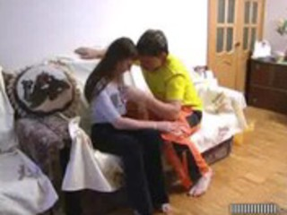 Mom and son have hot taboo sex - hornbunny.com