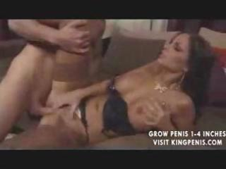 hot brunette mother i gets licked then takes his