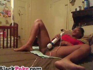 hot ebony mother i toying her snatch and squirting