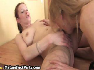 sexually excited older housewives fully enjoying