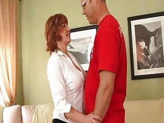 naughty older redhead needs a fuc...