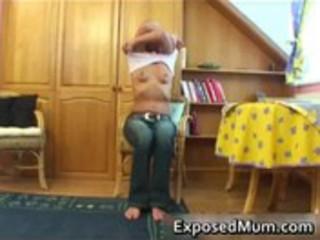 very impressive mamma rubbing and fascinating