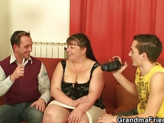 two men group-sex older fatty